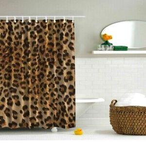 Ralph Lauren Cheetah Leopard Shower Curtain NWT